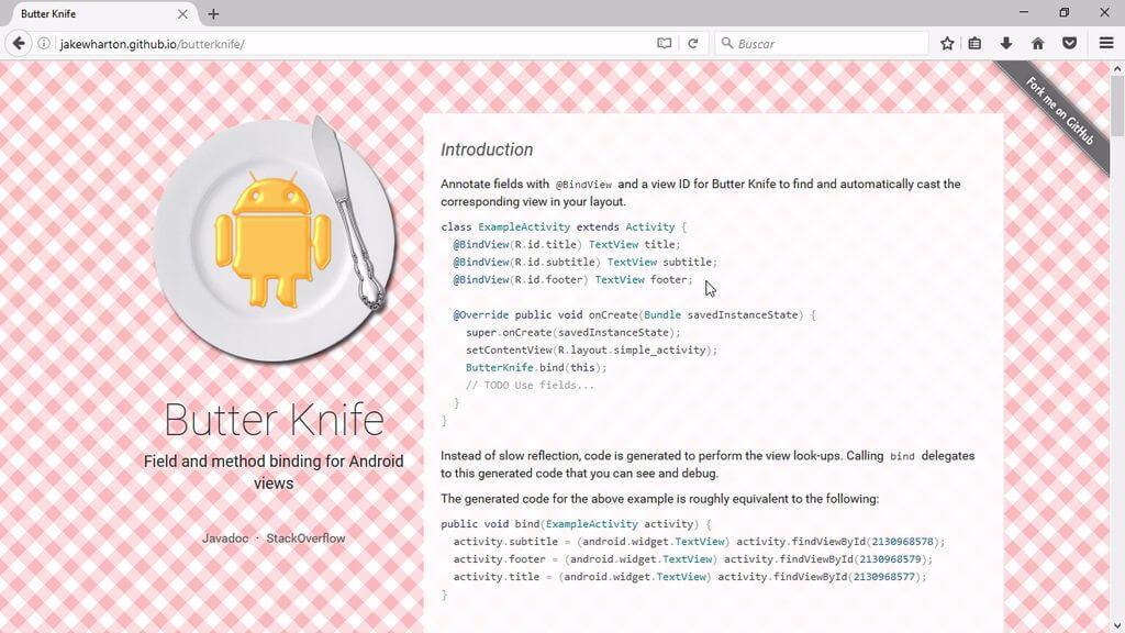 Android ButterKnife