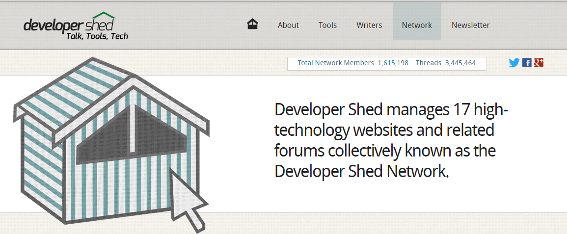 Dev Shed Network