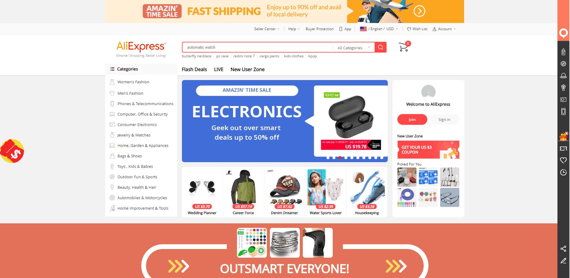 External Web Portal