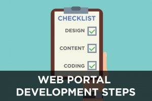 Web Portal Development Steps Cover
