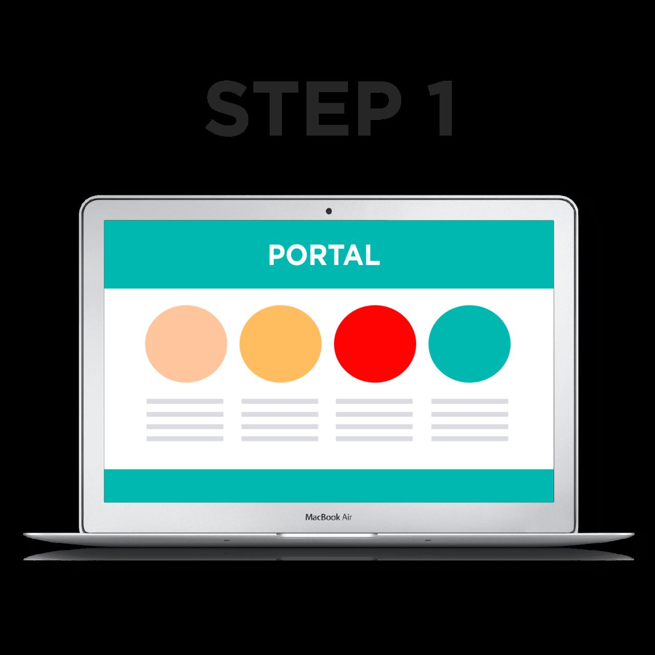 KeyToPortal Authenticator Step 1