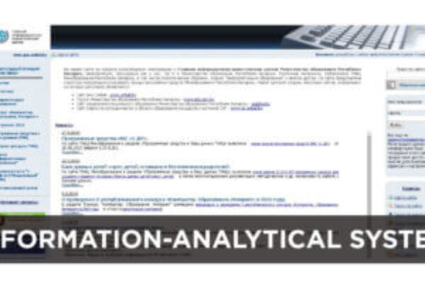 Information-analytical system for collecting and processing of the state statistical reporting