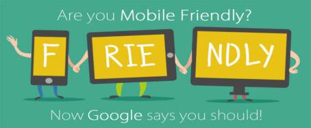 Has not your website been yet mobile friendly?