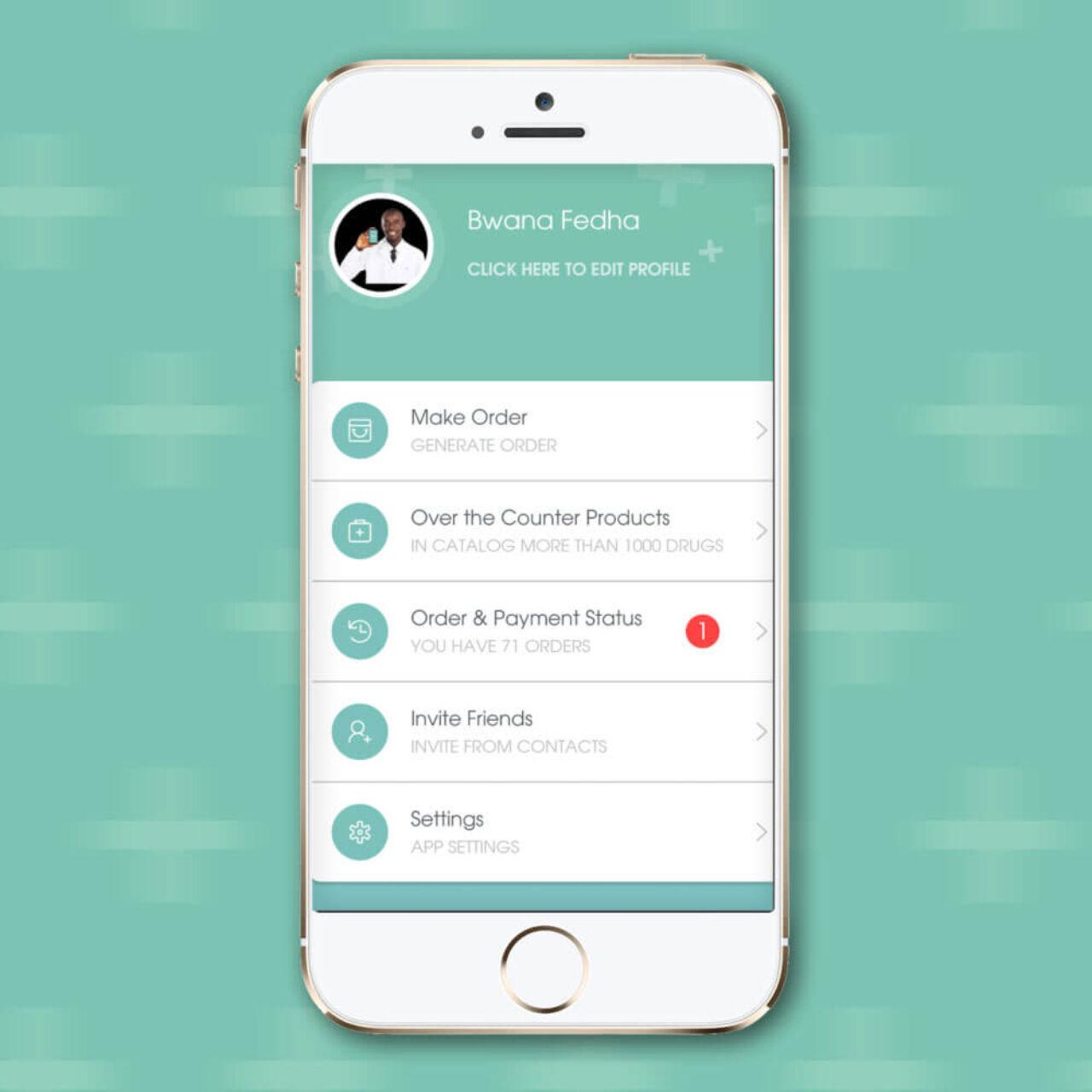 Livia - Online Medicine Platform Development