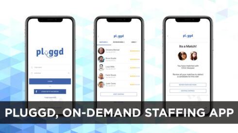 Pluggd, on-demand staffing app
