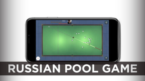 Russian pool game