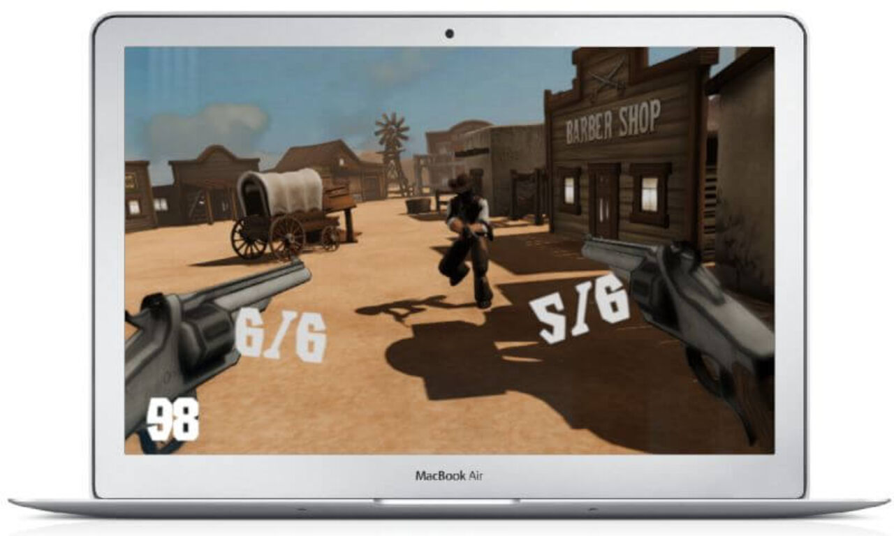 Wild West VR - shooting