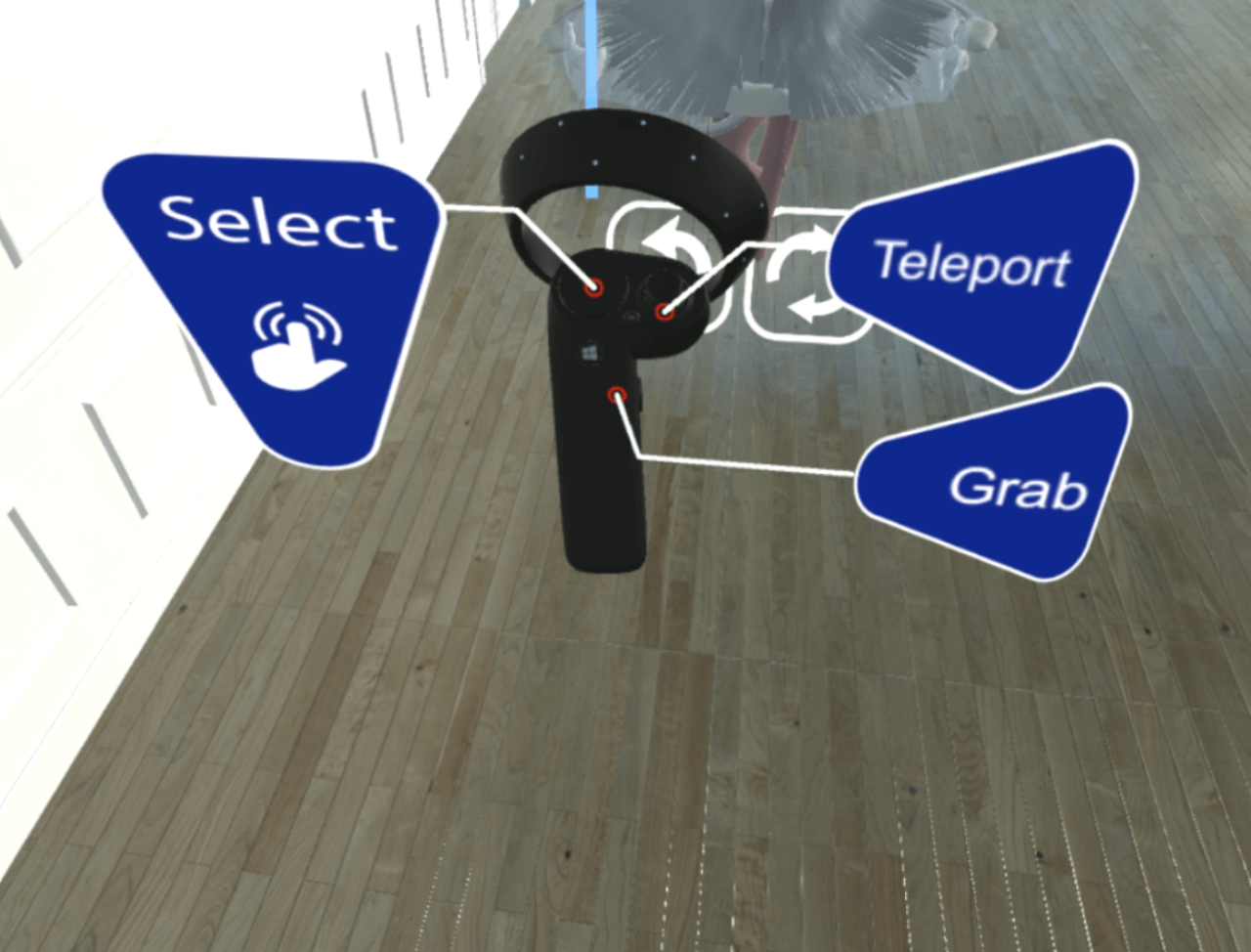 vr medical software controllers