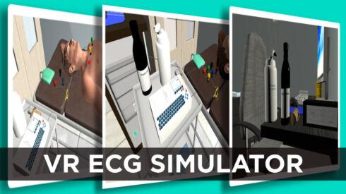 VR ECG simulator