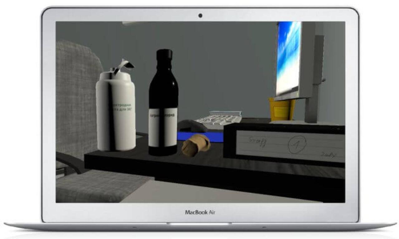 VR ECG simulator - drugs