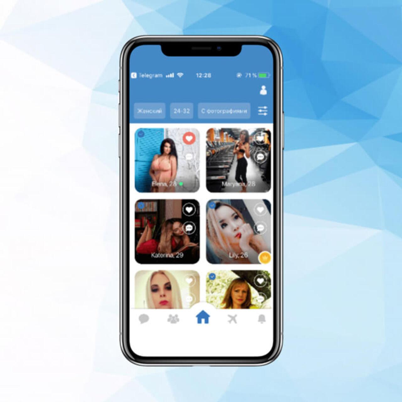 Dating app - girls