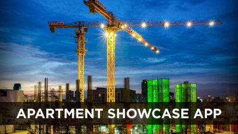 Apartment showcase app