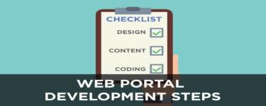 Web Portal Development Steps