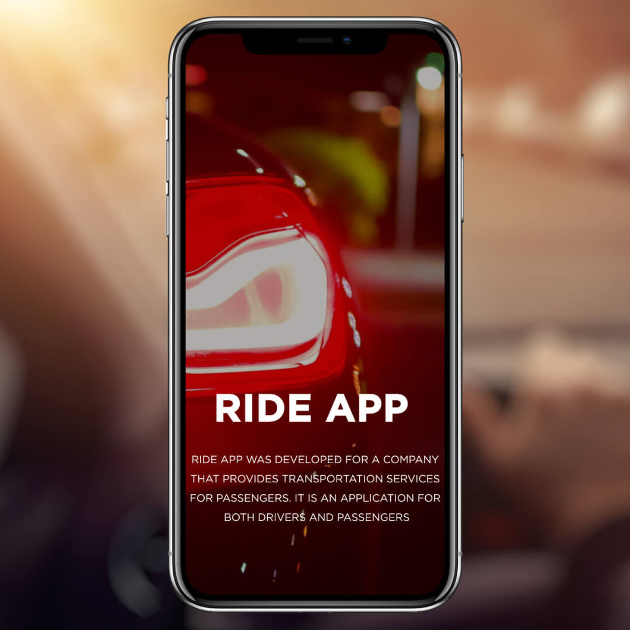 Ride App - Description
