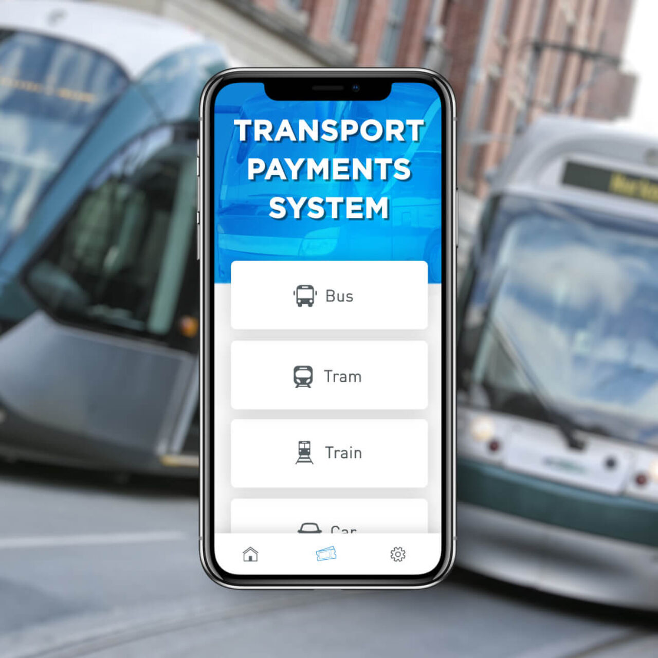 Transport Payment System - Types of transport