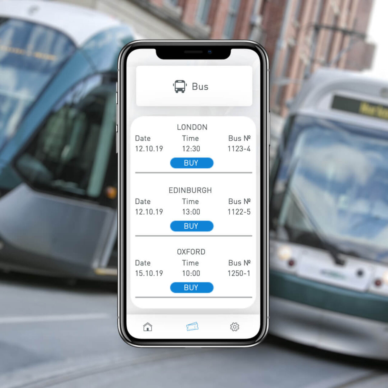 Transport Payment System - Bus