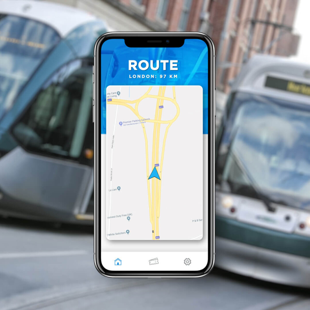 Transport Payment System - Route