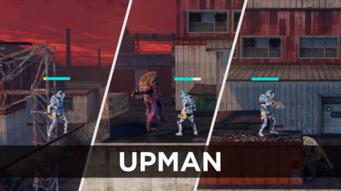 UPMan, a single-player action game