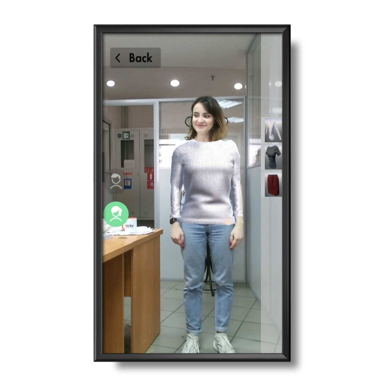 AR Fitting Room preview