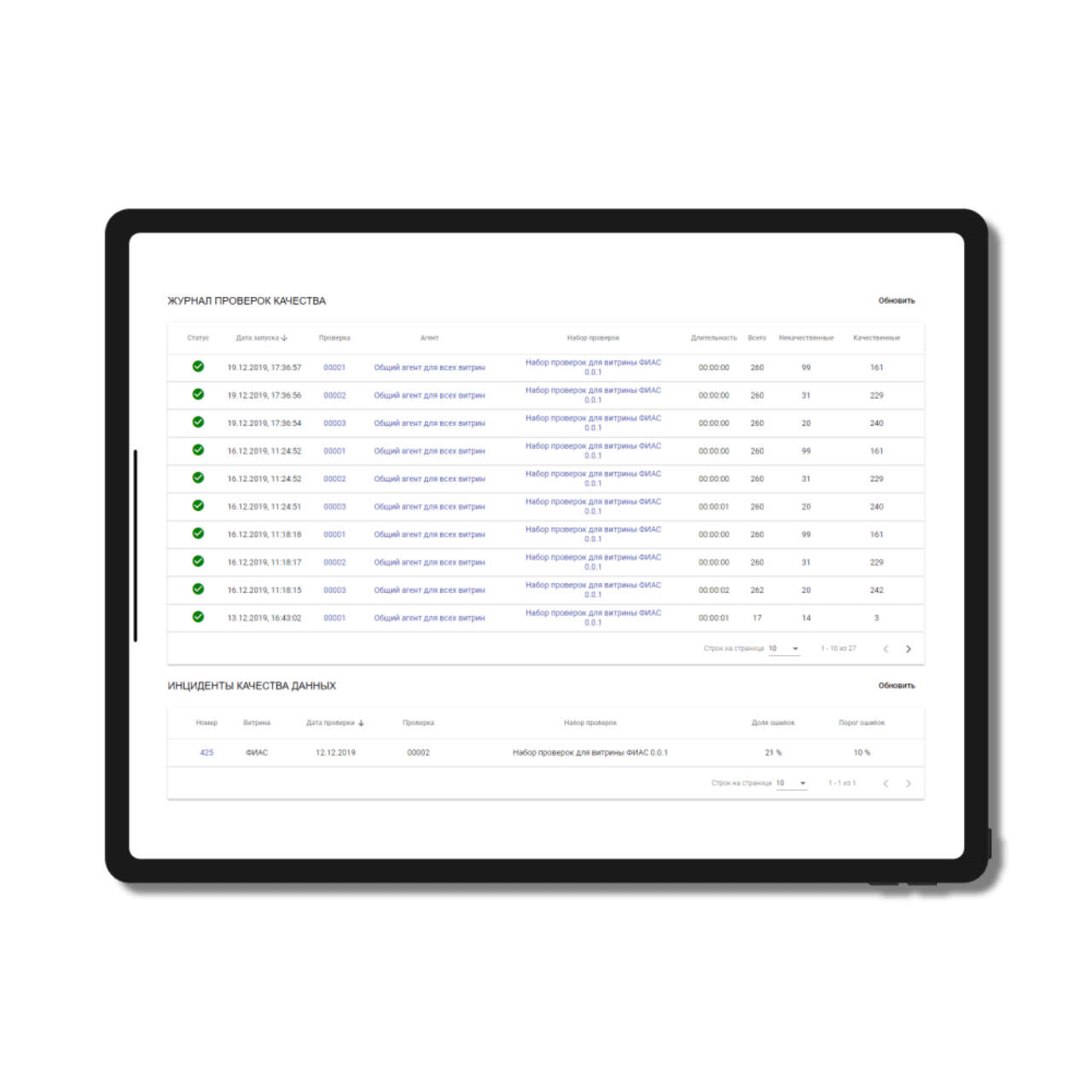 Document Workflow System - quality control