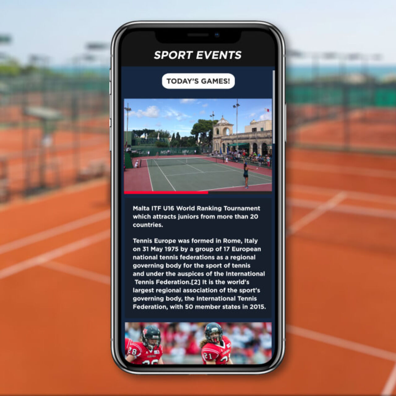Sports Fans Challenge App Today game