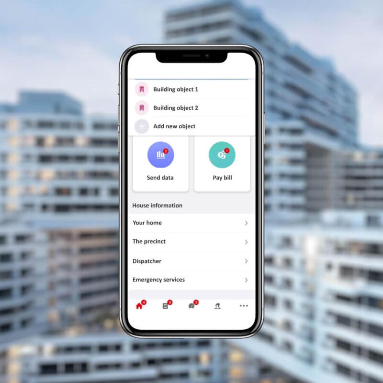 Smart Home App - house information