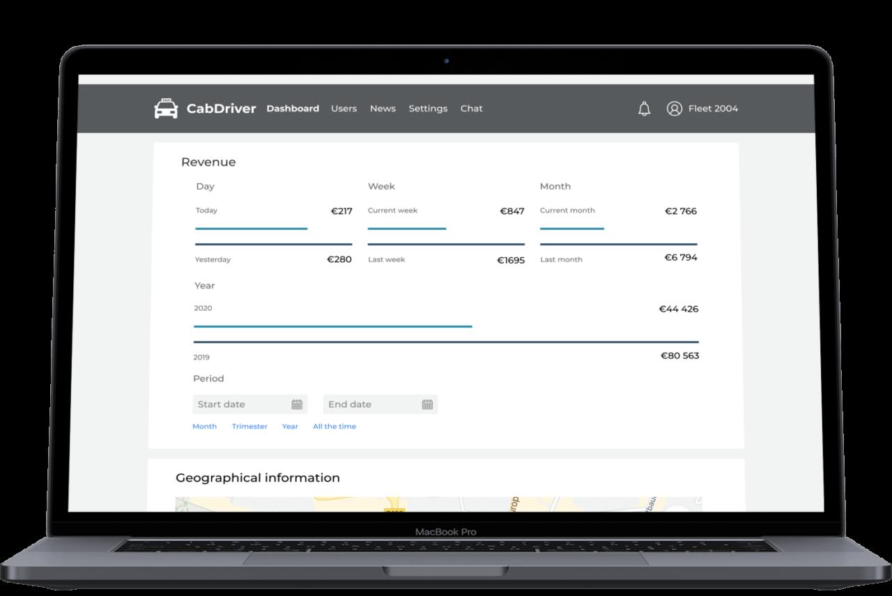 CabDriver Revenue Screen