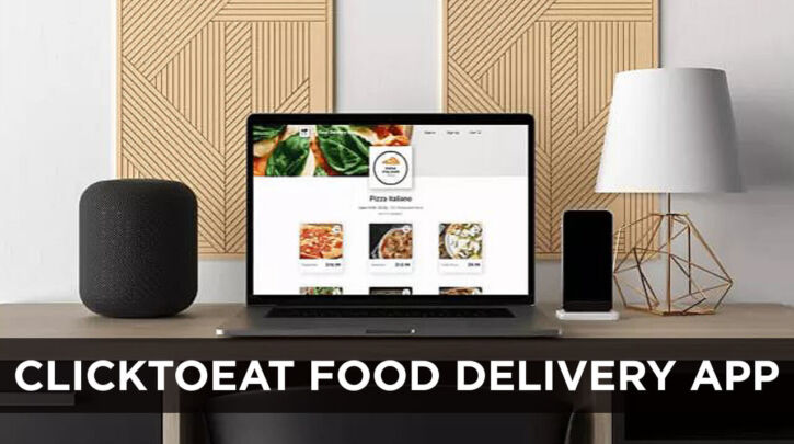 ClickToEat Food Delivery App