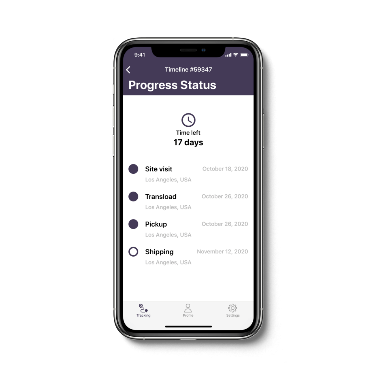 Air Freight Management Application Progress