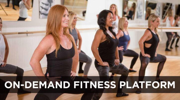 On-demand fitness platform