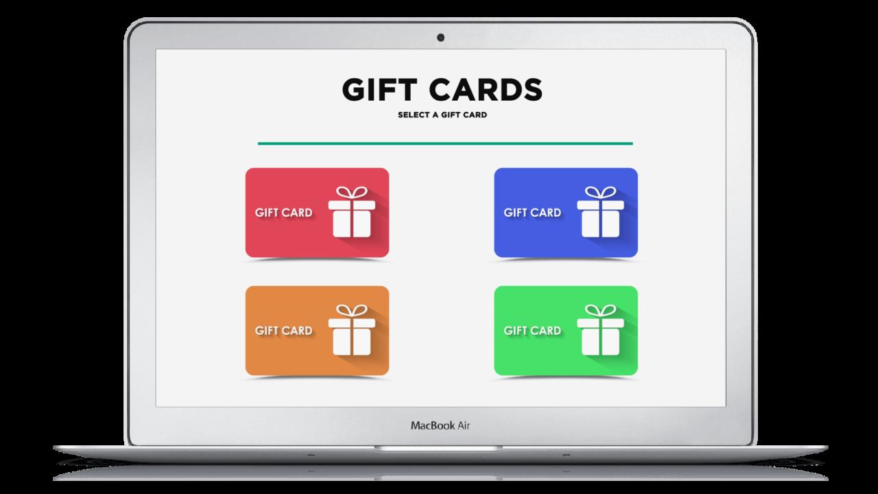 On-demand fitness platform - Gift cards