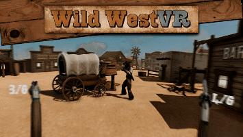 Wild West VR game development