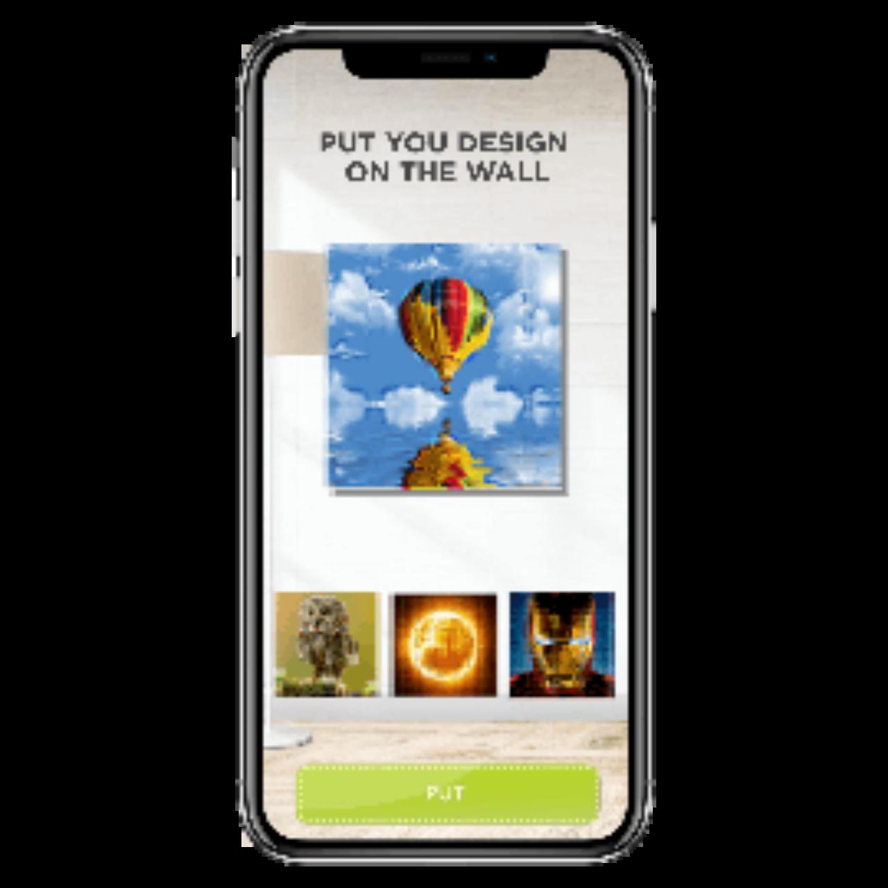 Coloring book app - baloon