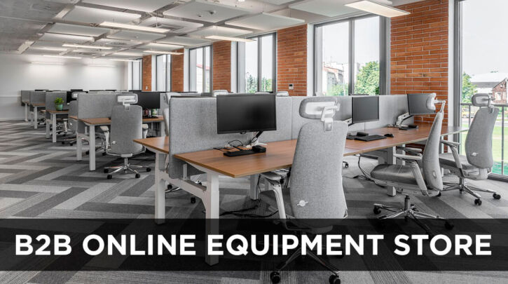 B2B Ecommerce Website for Equipment Selling