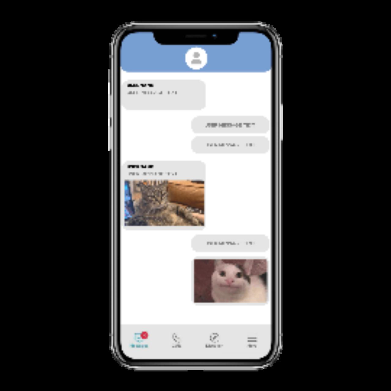 Messaging app - messages