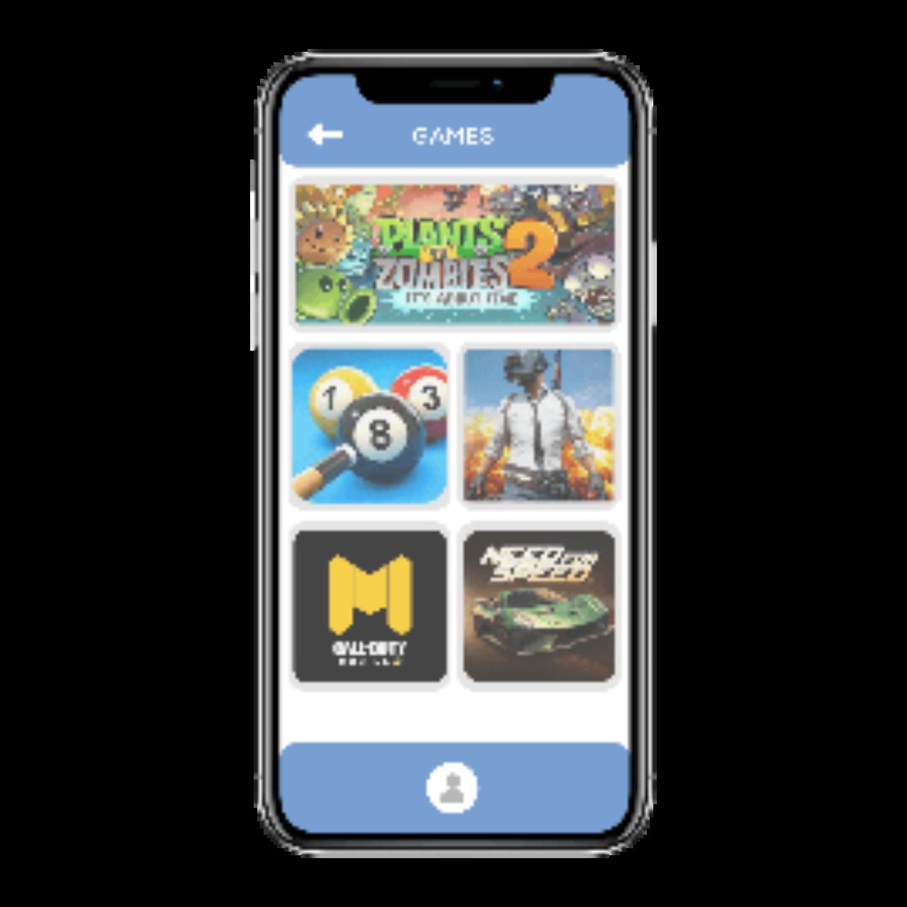 Messaging app - games