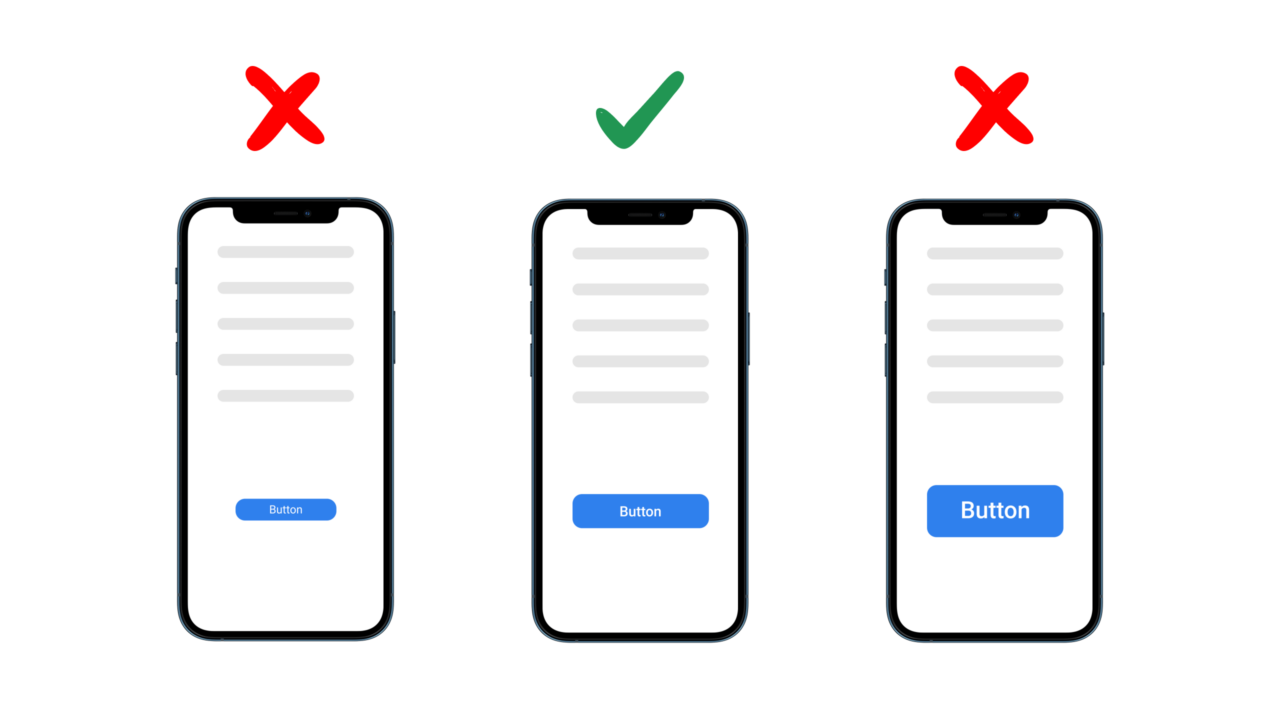 Medical UI Button Rules