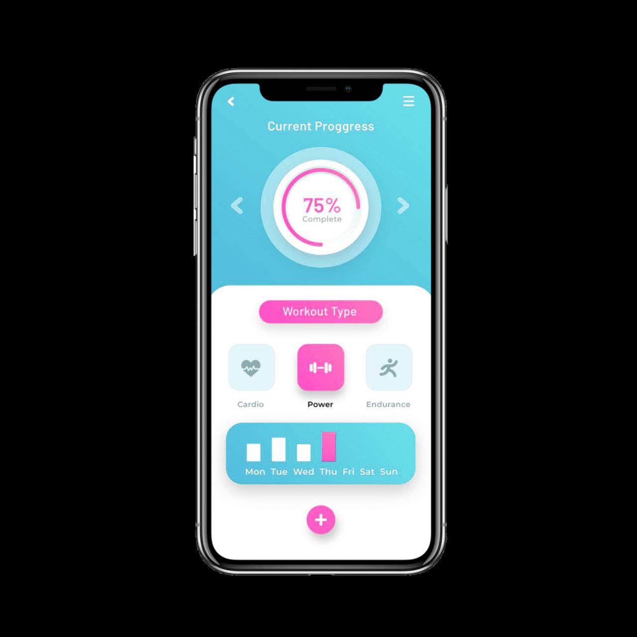 Diet and nutrition app development - menu