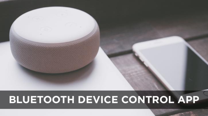 Bluetooth Device Control App