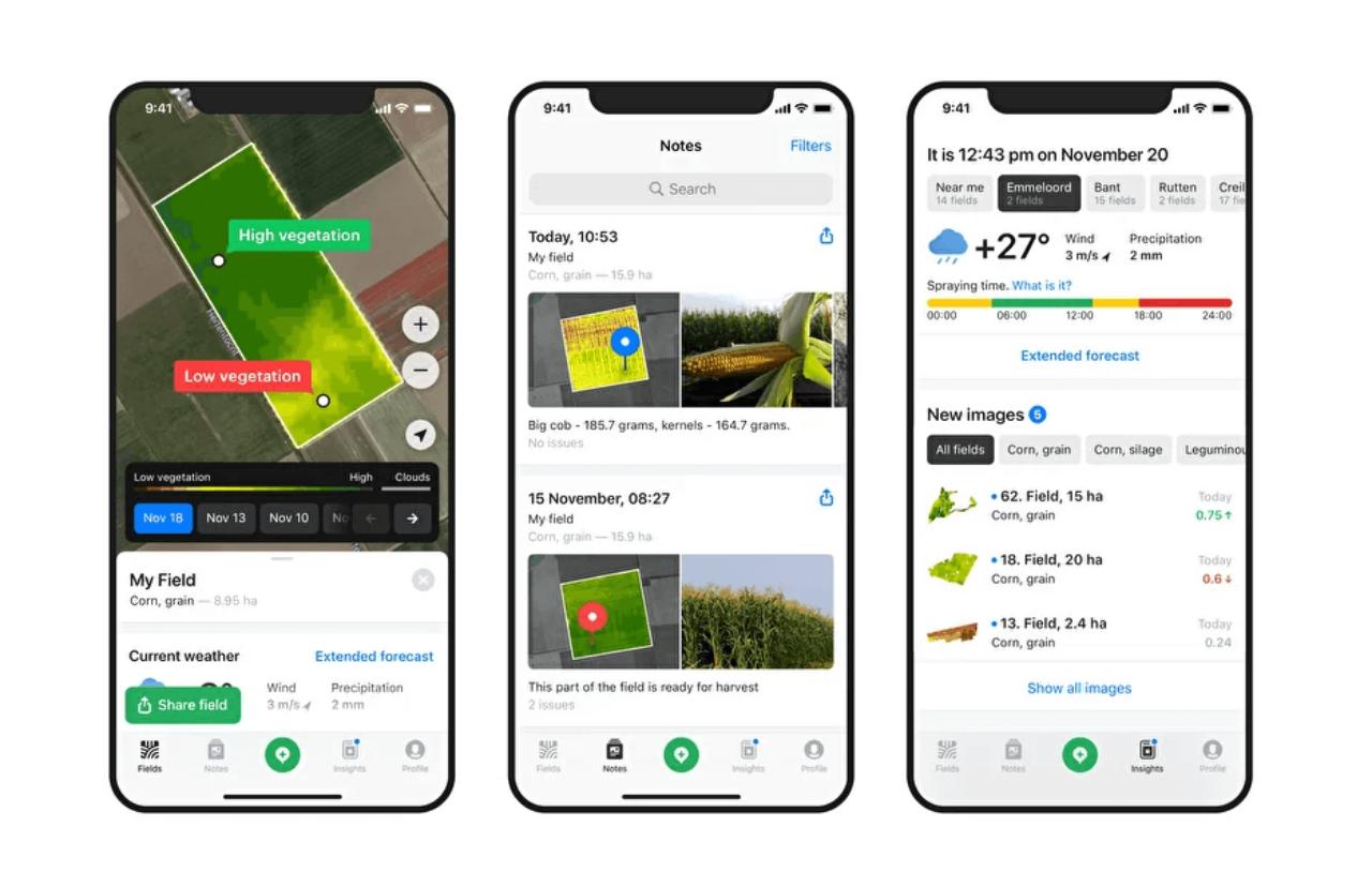 Soil monitoring app