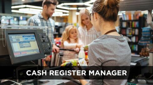 Cash Register Manager