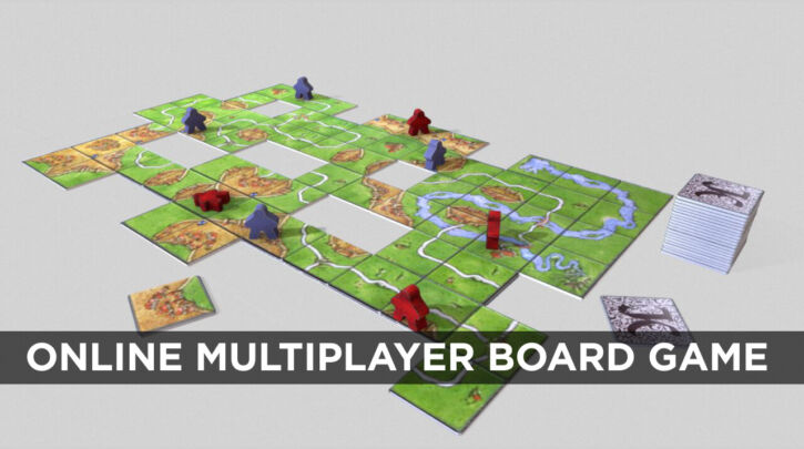 Online multiplayer board game