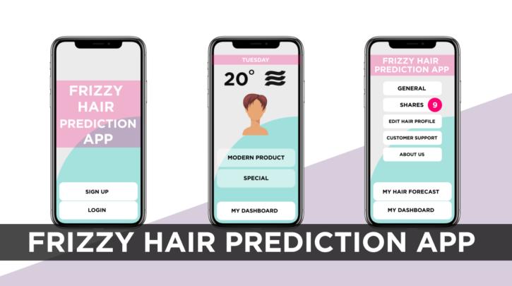 Frizzy Hair Prediction App